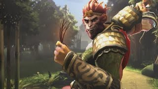 DOTA 2 Monkey King Cinematic Trailer