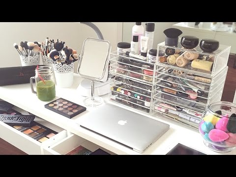 My Makeup Collection and Storage 2015 | AlexandrasGirlyTalk