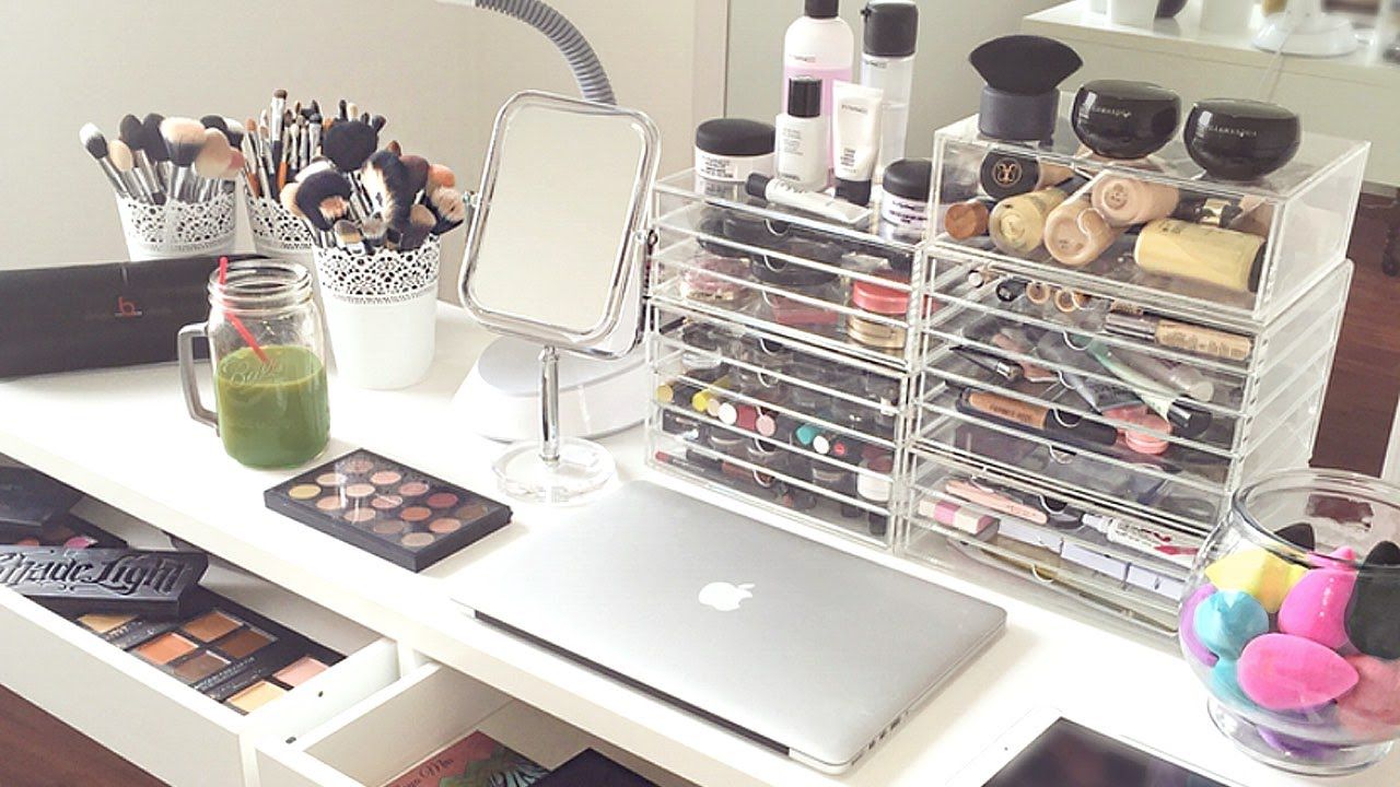 Acrylic makeup organizer uk