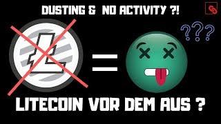 """Litecoin vor dem Aus? Charlie Lee offenbart """"Keine Aktivität und Entwicklung bei Litecoin!"""""""