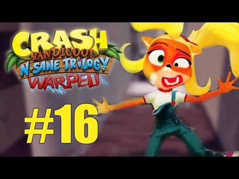 E COMEÇA A BUSCA PELAS GEMAS! - Crash Bandicoot N.Sane Trilogy WARPED #16