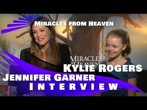 Miracles From Heaven: Jennifer Garner and Kylie Rogers