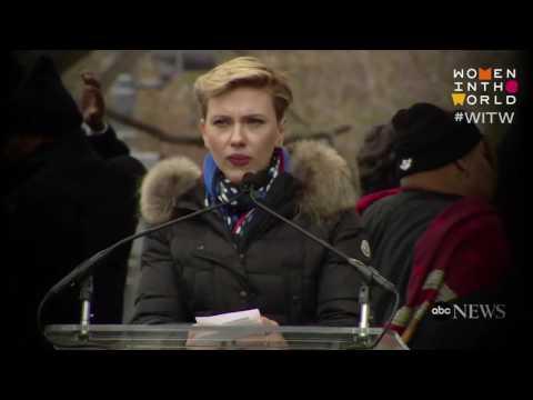 Scarlet Johansson: Public office?