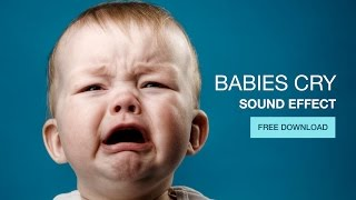 Baby Cry - Sound Effect - Free Download