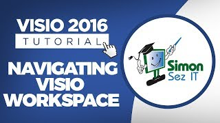 How to Navigate Visio 2016 Start Screen, Workspace and Backstage View