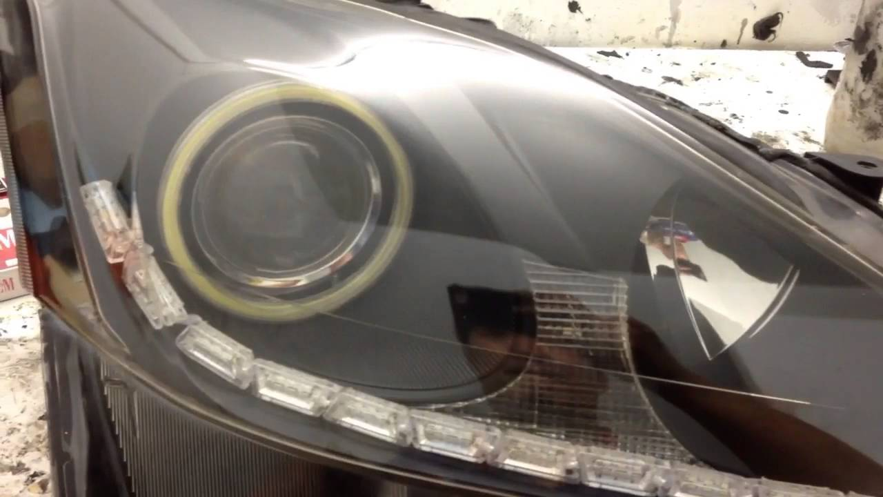 headlights drl discussion forum s gen lexus clublexus page headlight forums for led white on is