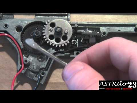 Tech Tips: Lubricating An Airsoft Gearbox  -ASTKilo23-