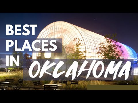 10 Best Travel Destinations in Oklahoma USA
