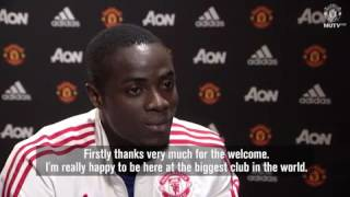 ERIC BAILLY FIRST INTERVIEW FOR MANCHESTER UNITED FULL VIDEO