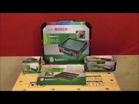 Видео обзор: Кейс BOSCH Ящик малый 1/9 SYSTEMBOX