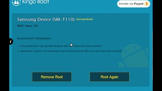 How to Unroot Any Rooted Android Device! With Kingo Root