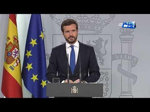 Casado pidió a Sánchez apoyo para Ceuta