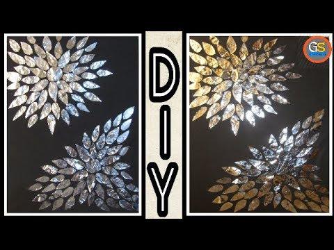 Delightful Aluminium Foil Crafts   Home Decor   DIY
