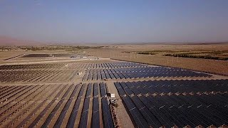 Largest solar power plant in Iran opens