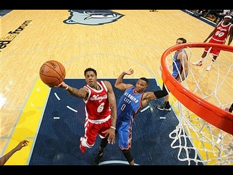 Russell Westbrook Duels Mario Chalmers