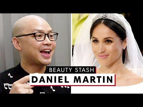 Meghan Markle's Makeup Artist Daniel Martin Reveals His MASSIVE Beauty Stash | Harper's BAZAAR