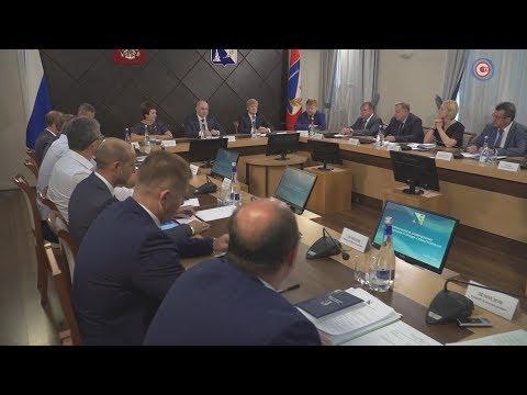 Новый глава города Михаил Развожаев провёл первое аппаратное совещание в Севастополе