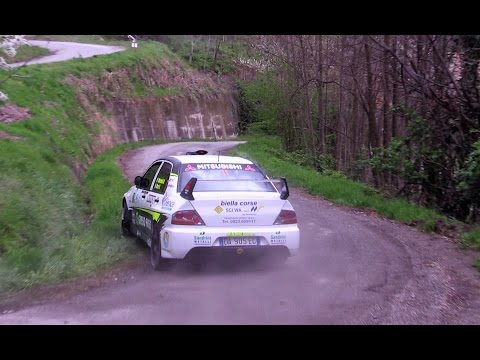 Видео, 5 Rally Colli del Grignolino 2017  CRASH  MISTAKES  HD