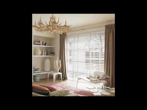 white curtains and blinds for your home
