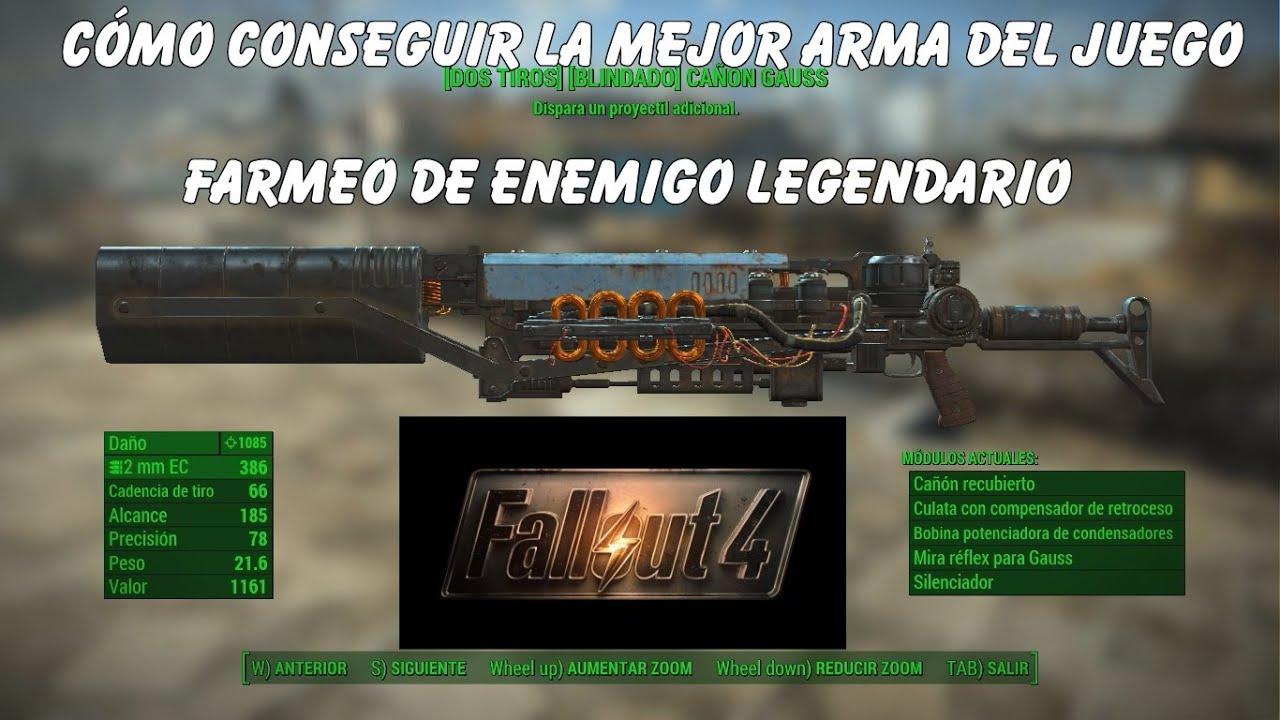 Armario Suspenso Escritorio ~ Fallout 4 Cómo conseguir la mejor arma del juego Farmeo