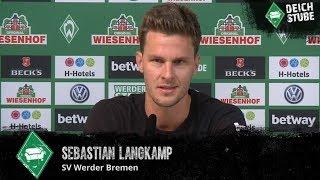 """""""Moisander am Fluchen, ich mit Galgenhumor"""" - Langkamp über den Werder-Sieg gegen Hannover 96"""