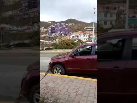 LeRose - live feed recorded - BVI Hurricane Irma Devastation