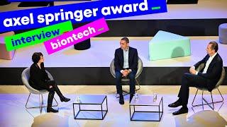 Axel Springer Award – Interview with Özlem Türeci and Uğur Şahin