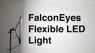 Flexible LED Light: FalconEyes RX-18TD Overview