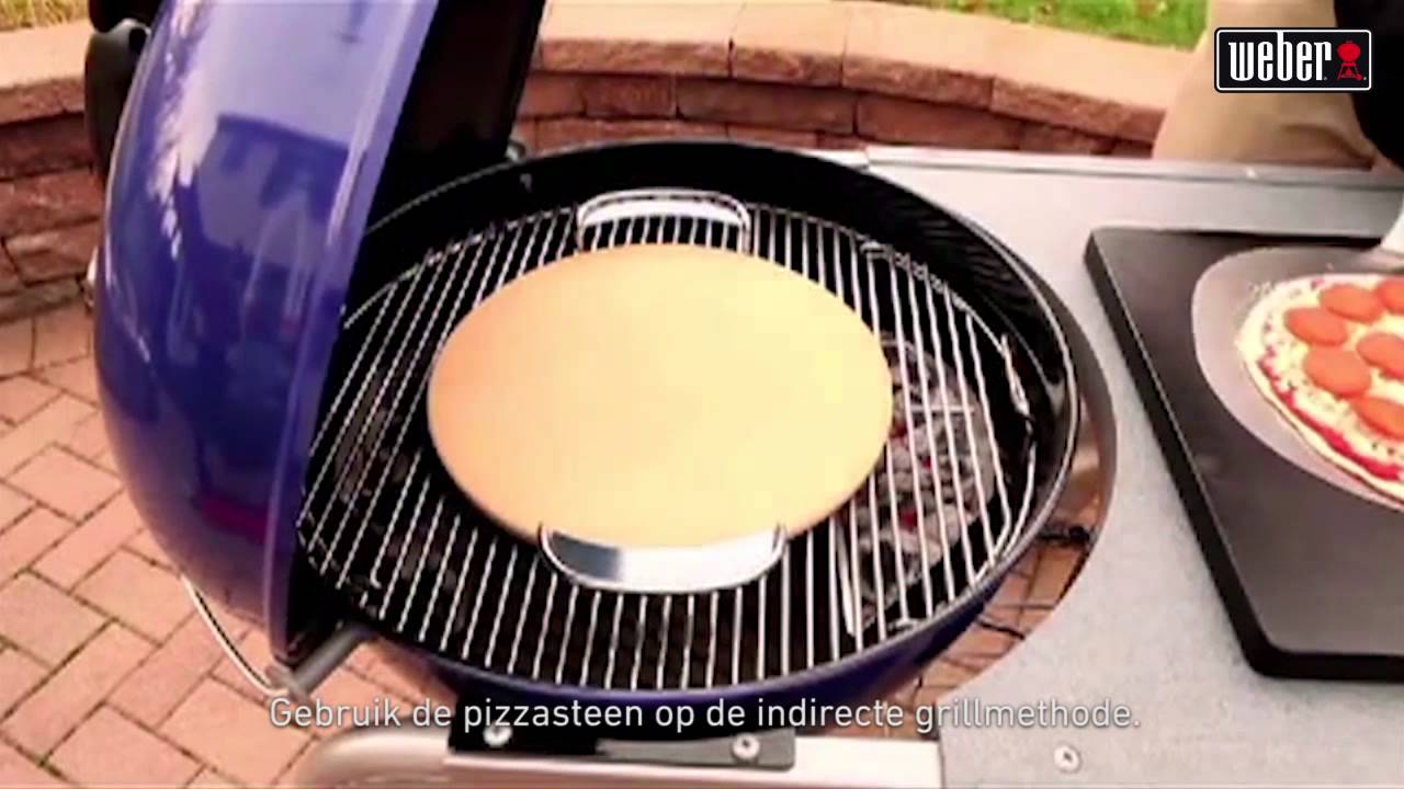 Pizzasteen Weber Gourmet Barbecue System Accessoires