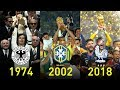 FIFA World Cup Winners 1930 - 2018 ? Footchampion