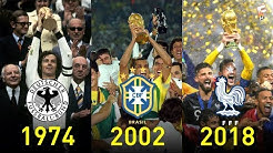FIFA World Cup Winners 1930 - 2018 ⚽ Footchampion