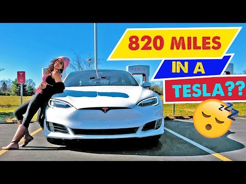 TESLA MODEL S ROAD TRIP - 820 Miles Atlanta to Chicago! | Special Holiday Episode