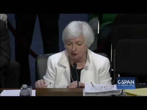 "Fed Reserve Chair Yellen: Recent ""Economic Growth Has Been Uneven"""