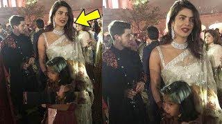 Priyanka Chopra and Nick Jonas look so adorable in Ethenic wear at Isha Ambani Sangeet
