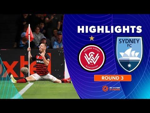 Highlights: Western Sydney Wanderers FC 1-0 Sydney FC – Round 3 Hyundai A-League 2019/20 Season