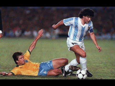 Diego MARADONA Vs Brazil (1989) - Copa América // Maracanã