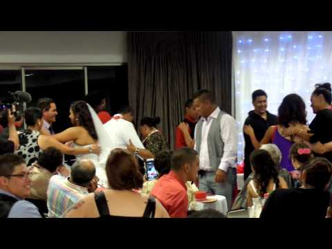 Sione UiKilifi & Chanita Vaitohi's first dance together