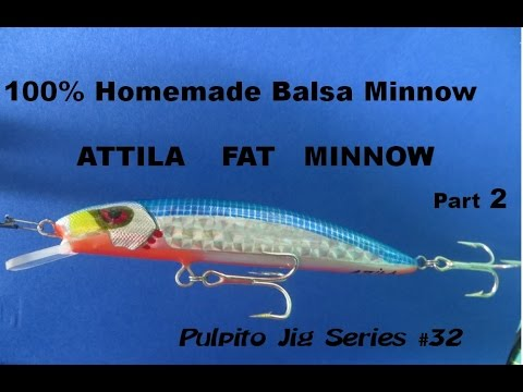 Saltwater and freshwater fishing 100 homemade balsa for Best bait for freshwater fishing