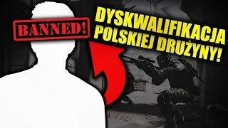 POLSKA DRUŻYNA WYRZUCONA Z TURNIEJU! | AFERA CS:GO