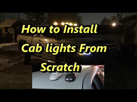 How to Install Atomic LED Cab Lights From Scratch