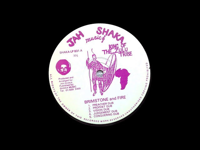 Jah Shaka -  Brimstone and Fire 1983 (HQ)