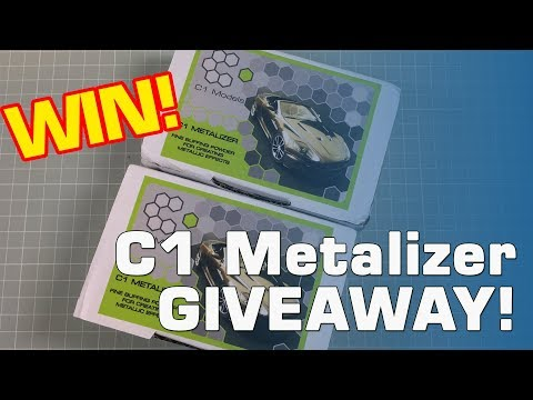WINNER DRAW! C1 Metalizer Giveaway - did you win?