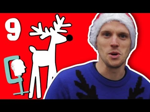 9 Reindeers A'Rocketing | 12 Explosions Of Christmas With Greg Foot | Head Squeeze