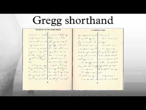 Gregg Shorthand Youtube