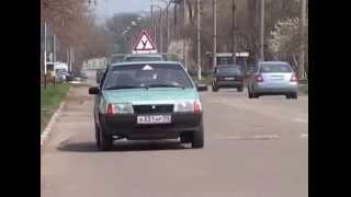 Уроки вождения -10. Как быстро научиться водить автомобиль - 10