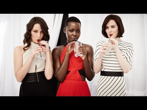 Lupita Nyong'o, Michelle Dockery Pose With Their Stylist Micaela Erlanger
