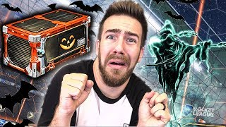 """20 NEW SPOOKY """"HAUNTED HALLOWS"""" ROCKET LEAGUE CRATE OPENING"""