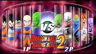 Dragon Ball Z Raging Blast 2 - Z Fighters Vs. Ginyu Force (Live Commentary)