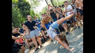 Невероятният сет на Жасмина в състезанието по Street Workout