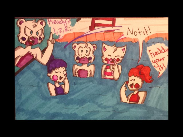 FNAF SL comic dub good night - YouTube